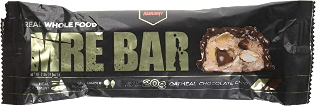 Redcon1 Mre Bar 12 X 67G Oatmeal Chocolate Chip Estimated Price : £ 33,58