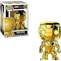 Funko Pop Marvel: Marvel Studios 10 Iron Man (Gold Chrome)