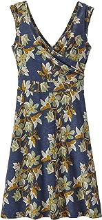 Fumai Floral:Neo Navy Magnolia Spring Dress Womens Patagonia