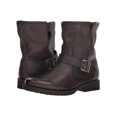 Frye Natalie Engineer Short (Smoke) Cowboy Boots
