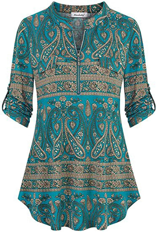 Women's Shirt Tops Cute Butterfly in Heart Printed Vest Long Sleeve T-Shirt Casual Autumn Shirt Top Tunic Tee