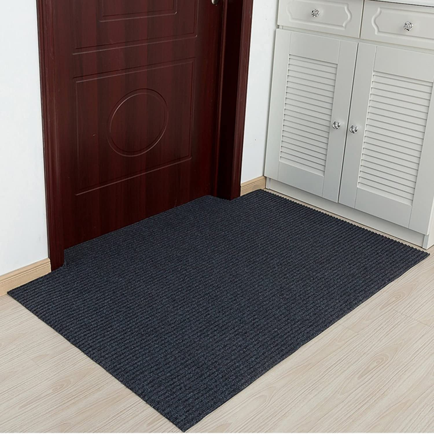 Carpet Door mats Foot pad Non-Slip Water Absorption Toilets Hall Home-C 90x180cm(35x71inch)