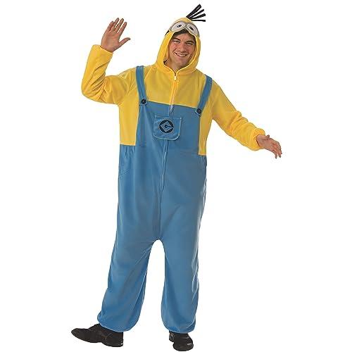 eac6bca9d843 Men s Despicable Me 3 Minion Adult Costume Onesie