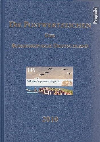 RFA (FR.Allemagne) 2010 Officiel annuaire Le Allehommed Post (Timbres pour Les collectionneurs)