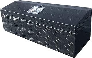 Brait 30x10x10 Aluminum Tool Box Storage for Truck ATV RV Boat Motorcycle (Black w/o handles)