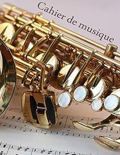 Cahier de musique: Carnet de partitions grand format avec portée de musique ; Papier manuscrit pour la composition Musical...
