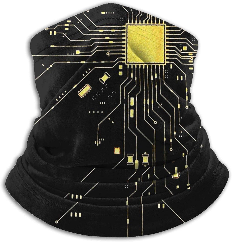 Computer CPU Core Heart Geek Nerk Pc Gamer Outdoor Motorcycle Face Mask Seamless Headwear Microfiber