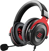 EKSA E900 Stereo Gaming Headset-Xbox one Headset Wired Gaming Headphones with Noise Canceling Mic, Over Ear Headphones Com...