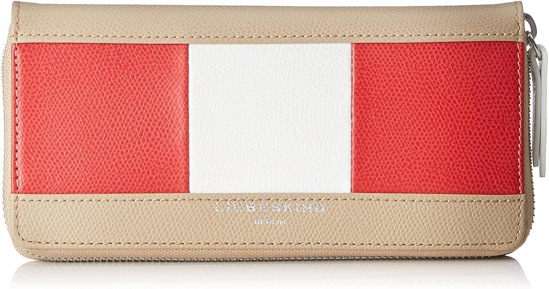Liebeskind Berlin  Sallyf8 Portho, Women's Wallet, Multicolour (Cafe Latte), 2x19x10 cm (B x H x T)