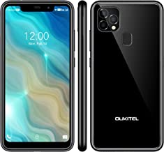 OUKITEL C22 Unlocked Smartphones (2021 New) 128GB/4GB Android 10 Unlocked Cell Phones with Dual Sim 256GB Expandable 5.86'...