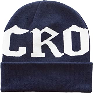 Crooks & Castles Men's Knit Beanie Hat-Califas