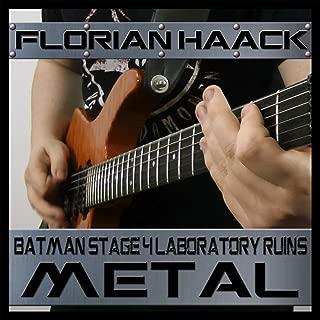 Batman Laboratory Ruins Stage 4 Metal Cover