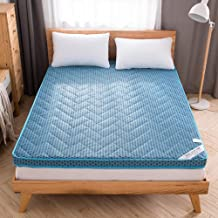 Comfortable Mattress Foldable 6cm thickn Mattress beds,Matt mat Breathable Futon 4d Bamboo Charcoal Floor mats Bedroom Bed...