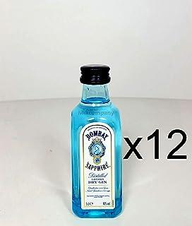 Bombay Sapphire Gin Minis - 12x 50ml 40% Vol