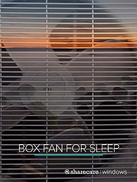 Box Fan for Sleep