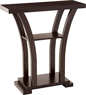 Crown Mark Draper Console Table, Espresso