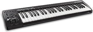 M-Audio Keystation 49 MK3 - Teclado Controlador MIDI USB Compacto de 49 teclas con controles asignables, ruedas de cambio de tono/modulación, conectividad Plug-and-Play (Mac/PC) y software incluida
