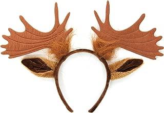 Moose Ears and Antlers Headband
