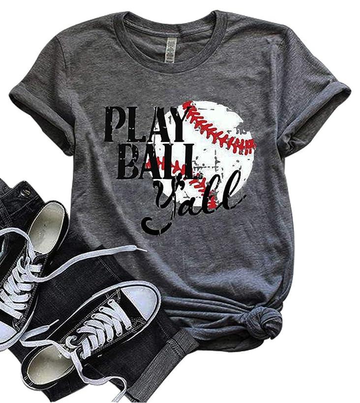 Let's Play Ya'll Tshirt Let's Do This Boys Shirt Baseball Mom T-Shirt Tee Tops