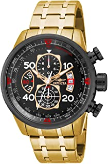 """Invicta Men's 17206 """"AVIATOR"""" Stainless Steel Casual Watch"""