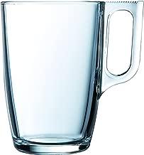 Luminarc Nuevo 9211143 - Juego de 6 Tazas de Cristal, 32 cl