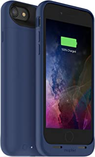 mophie juice pack wireless  - Charge Force Wireless Power - Wireless Charging Protective Battery Pack Case for iPhone 8 and iPhone 7 – Blue