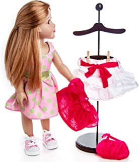 The Queen's Treasures Doll Dress Display Stand Compatible with 15