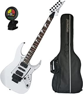 Ibanez RG450DXBWH Electric Guitar White w/ Gig Bag and Tuner!