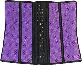 Creacom Frauen Taille Trainer Frauen Taille Trainer Neopren Fatburner Body Shaper Bauch Trainer G/ürtel f/ür Weight Loss Gym Workout Pink S.