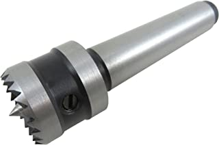 Taytools 605005 1 Inch Diameter Multitooth Drive Center Spring-Loaded Point Morse 2 Taper MT2