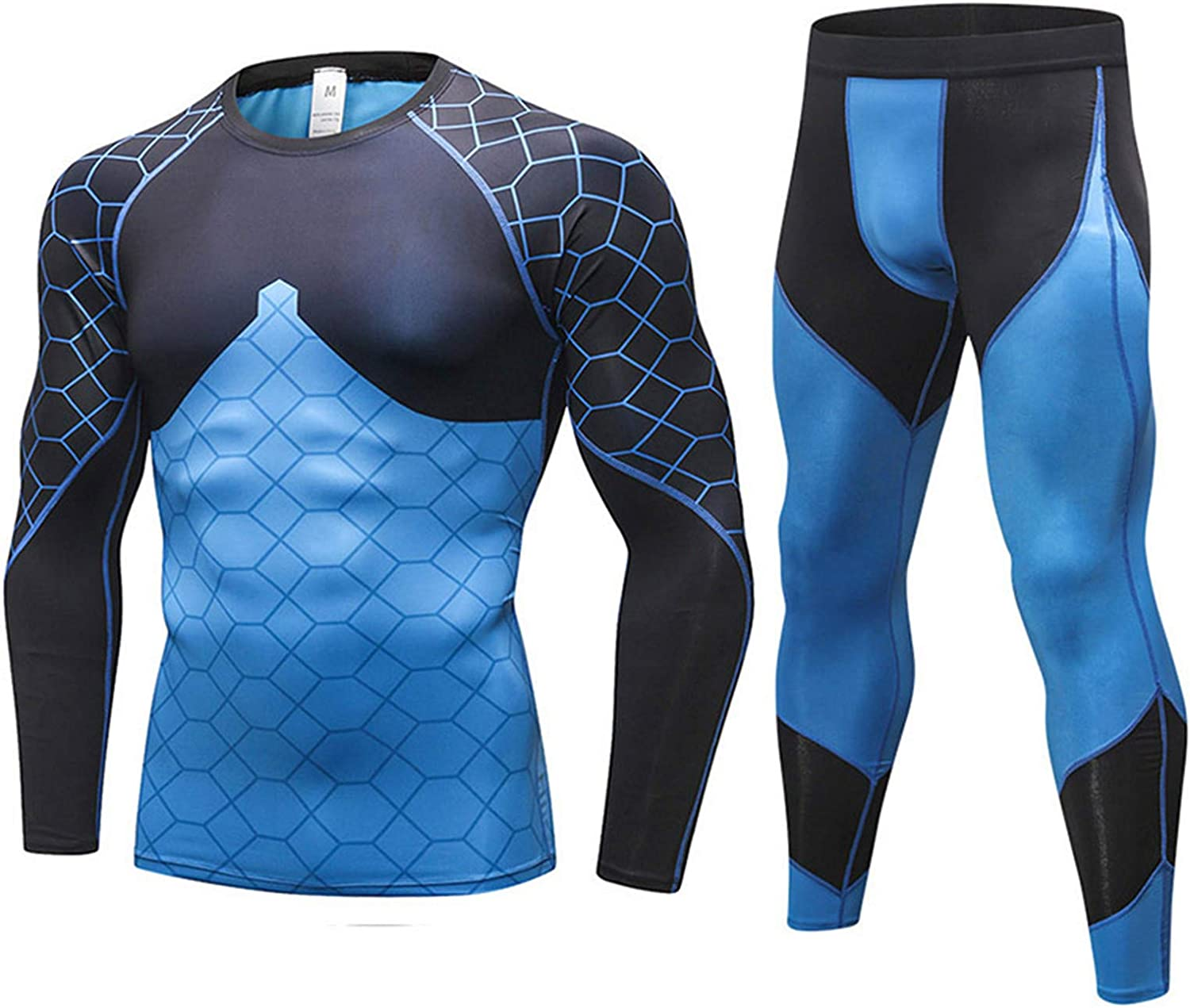 Winter Thermal Underwear Sets Men Long Johns Quick Dry Stretch Men's Warm Fitness