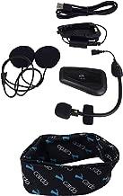 Cardo Scala Rider FREECOM 1+ Bluetooth Motorcycle Helmet Communication Headset with Cardo Logo Neck Gaiter (FREECOM 1+)