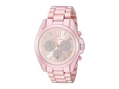 Michael Kors MK6752 Bradshaw Chronograph (Pink) Watches