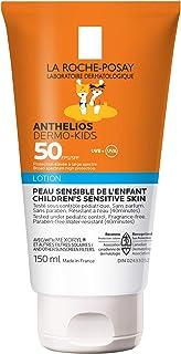 La Roche-Posay Kids Sunscreen, Anthelios Dermo-Kids Gentle Sunsceen Lotion Broad Spectrum SPF 50, Kids Sunblock for Face &...