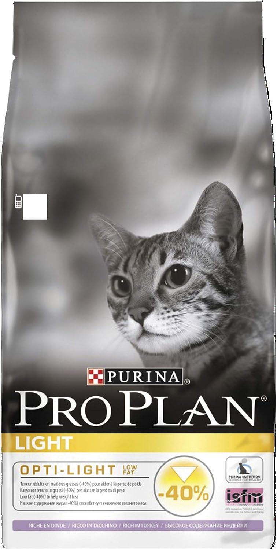 PRO PLAN Light Adult Dry Cat Food Turkey 10kg