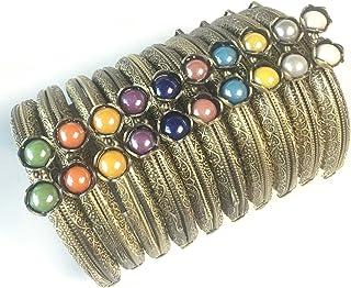 Guo Fa - Marco de monedero de metal de 10 piezas con bola de perlas, para la fabricación de bolsos, Hierro de metal de época,