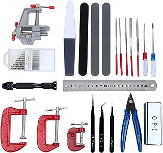 HSEAMALL 23 pièces Kit d'outils de modélisme,Gundam Modeleur Basic Outils Craft Set,Bandai Hobby pour voiture modÈle assem...