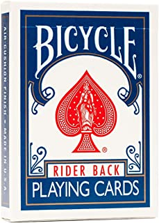 Bicycle Rider Back Playing Cards Gold Standard - Blue
