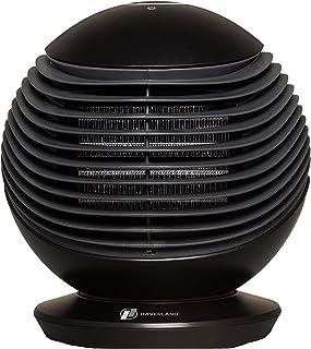 Haverland WOW | Termoventilador Portátil | 1500 W | 3 Velocidades | Oscilación Horizontal 90º | max. 25 m² | Mando a Distancia | Silencioso | Sistema TOUCH | Temporizador | Calentamiento Rápido | Nero
