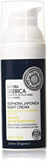 Nataura Siberica Sophora Japonica Night Cream for Oily and Combination Skin 50ml by Natura Siberica