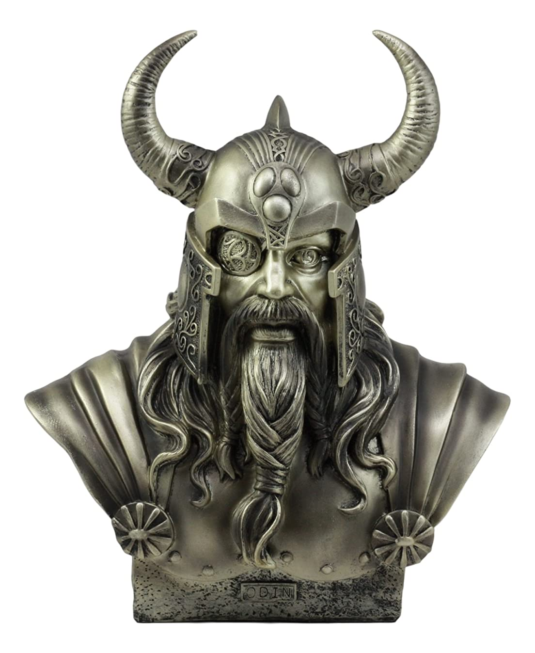 Ebros Warrior God Odin The Alfather Bust Statue 12