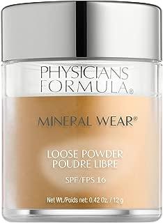 Physicians Formula Spf 16 Mineral Wear Loose Powder, Golden Caramel, 0.42 Ounce