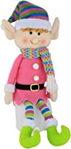 WEWILL Elf Plush Christmas Stuffed Toys-Adorable 20 Inch Girl Elf Holiday Plush Characters for Decoration