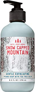 Bath and Body Works SNOW CAPPED MOUNTAIN Gentle Exfoliating Hand Soap 8.3 Fluid Ounce