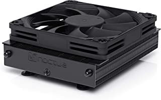Noctua NH-L9a-AM4 chromax.Black, Disipador de CPU de 92 mm y Bajo Perfil (Negro)