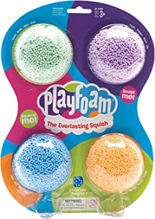 Educational Insights Playfoam Classic 4-Pack | Non-Toxic, Never Dries Out | Sensory, Shaping Fun, Great for Slime| Perfect...