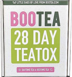 شاي نهاري وشاي وقت النوم 28 يوم من تيتوكس 105 غرام من بو تي