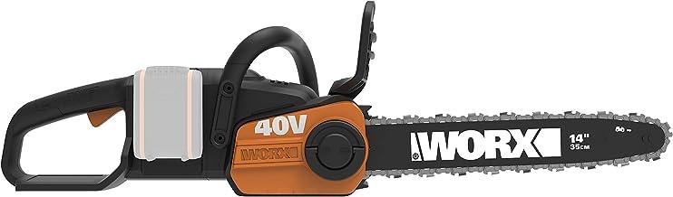 Worx WG384E.9 Akku-Kettensäge – Profi Motorsäge mit Ölstand-Anzeige – Baumpflege..