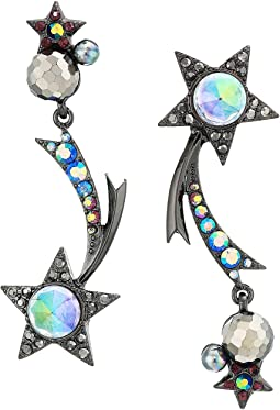 Shooting Star Non-Matching Earrings