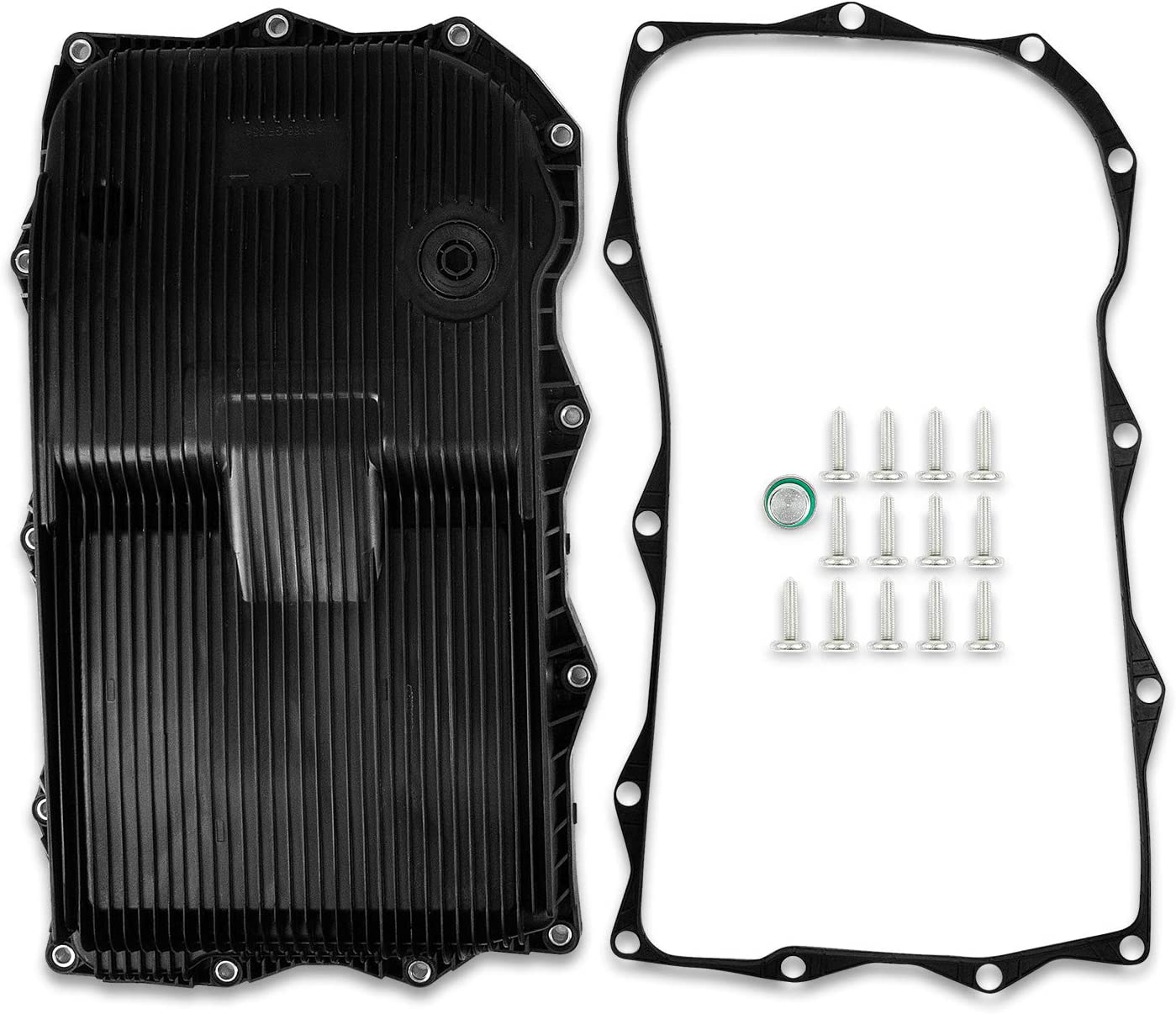 Automatic Transmission Oil Pan with Gasket and Bolts Max 62% OFF Compatible Free shipping on posting reviews